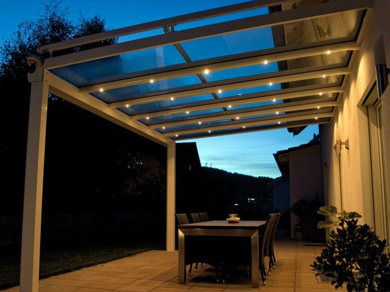 TerrassendÄcher - Sonnenschutz Unmüssig Auswahl Materialien Terrassenuberdachung