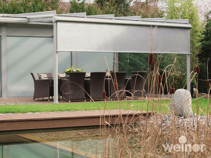 Pin Terrassen Oder Balkon Windschutz Die Seitenmarkise on Pinterest